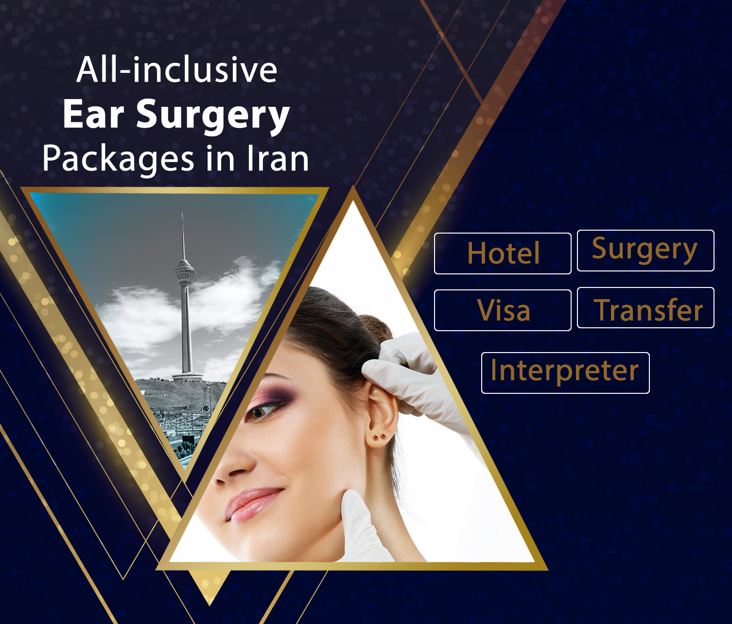 ear surgery package in iran