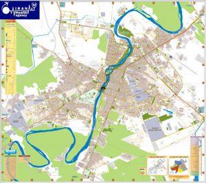 ahvaz map