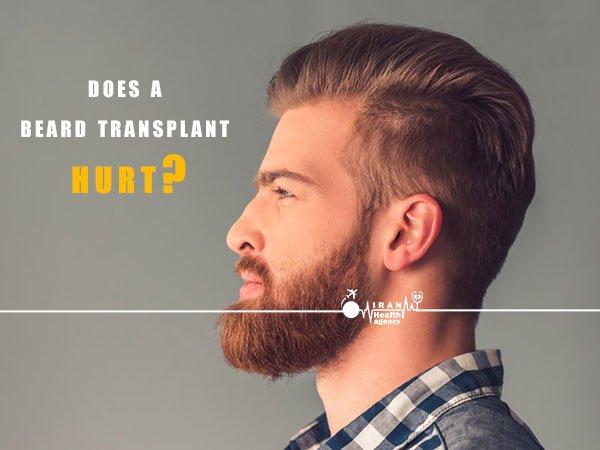 does a beard transplant hurt