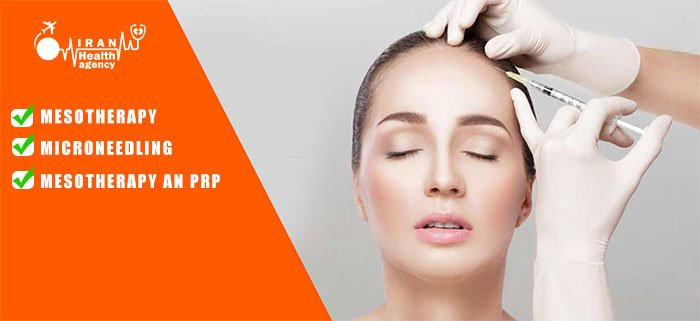 Mesotherapy and microneedling or mesotherapy an Prp