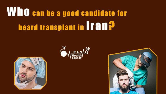beard transplant in Iran