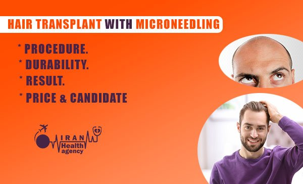 hair transplant with Microneedling