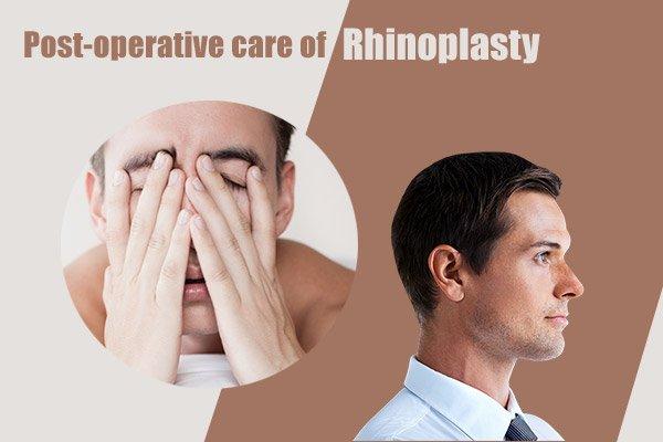 post-operative care of rhinoplasty