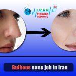 Bulbous nose job in Iran