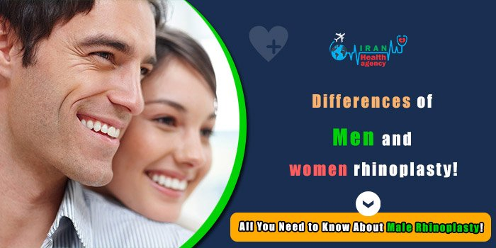Differences of men and women rhinoplasty