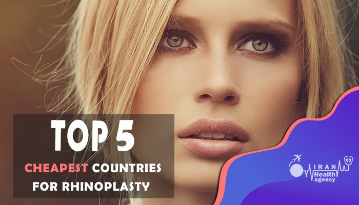 How much does rhinoplasty cost in different countries?