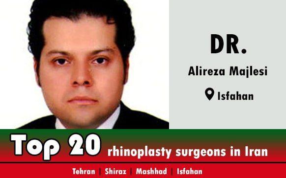 Dr.Alireza Majlesi rhinoplasty surgeons in isfahan Iran