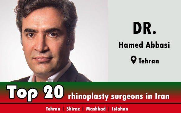 Dr.Hamed Abbasi rhinoplasty doctor in Tehran