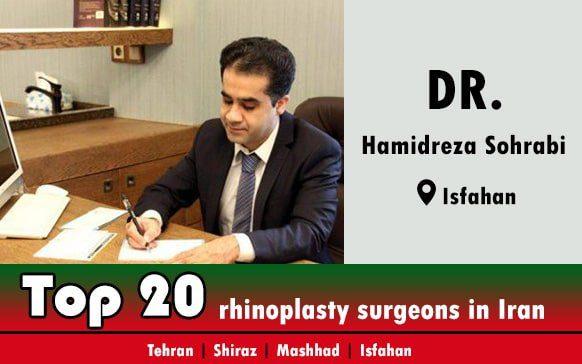 Dr.Hamidreza Sohrabi rhinoplasty doctor in isfahan