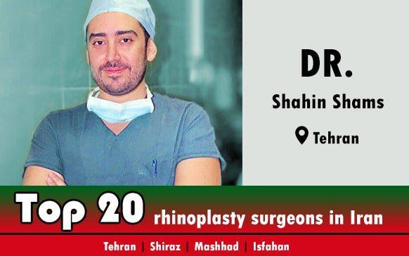 Dr.Shahin Shams rhinoplasty surgeons in Tehran Iran